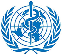 Logo of the World Health Organisation (Source: WHO)